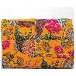 Gudri Flower Print Kantha Work