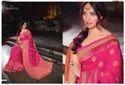 Joh Rivaaj Silk Pink Bollywood Designer Saree, Length: 6.3 M
