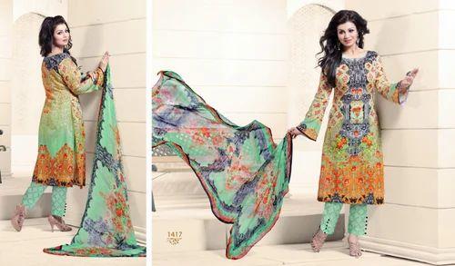 038a3d3a53 Pashmina Digital Printed Suit, पश्मीना सूट - D. C. Prints ...