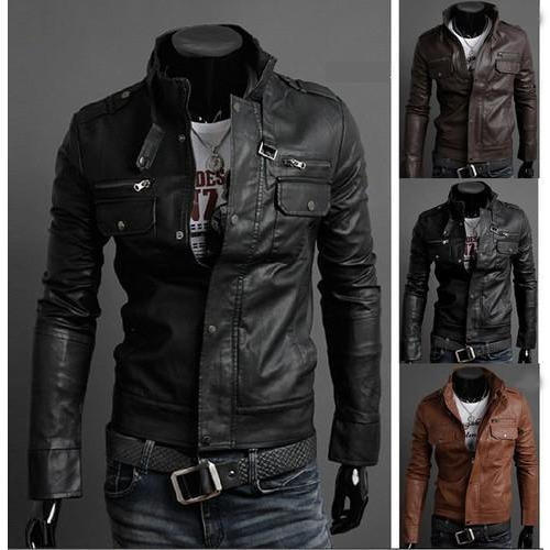 75a57e79d Men Leather Jacket