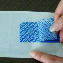 Security VOID Label