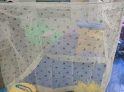 Polycotton Printed Mosquito Net With Clothing