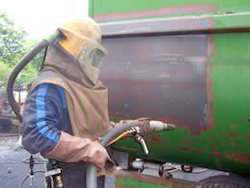 Copper Blasting And Spray Painting Services