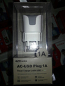 AC USB Travel Charger