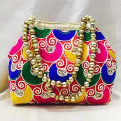 Modern Embroidered Purse