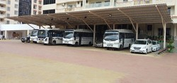 Bus Parking Shed