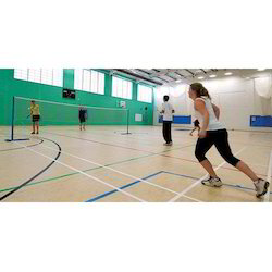 Badminton Sports Flooring Services