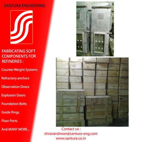 Furnace Observation and Access Doors - Santura Engineering