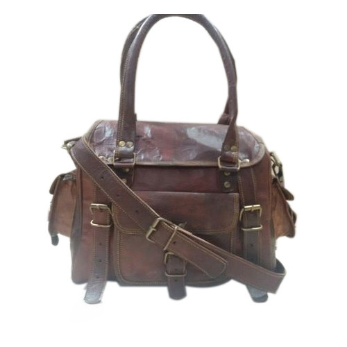 Product Image Read More Brown Leather Bag
