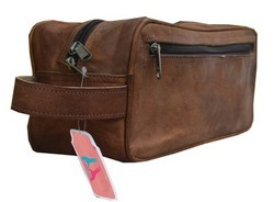 Leather Traveling Toiletry Bag TOIL101
