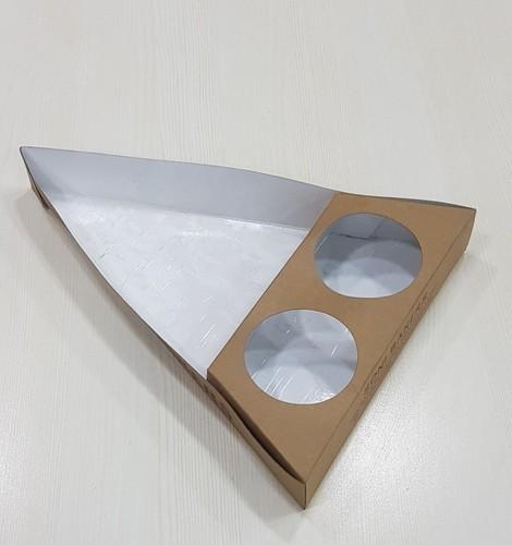 Paper White Nachos Disposable Tray