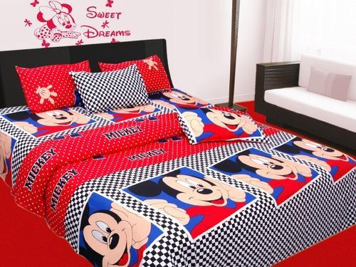 Beautiful Bajaj Mickey Mouse Bed Sheet