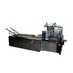 On Edge Twin Magazine Flow Wrap Biscuit Machine