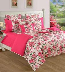 Merveilleux Floral Printed Bed Sheet
