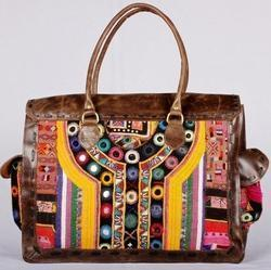 Banjara Leather Bucket Bag
