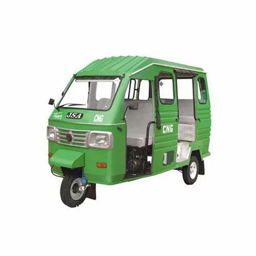 JSA CNG Passenger Auto Rickshaw, Seating Capacity: 5+ 1