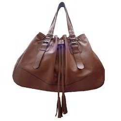 Brown Ladies Shoulder Bag