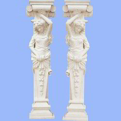 Statue Stone Pillar