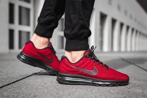 red and black nike air