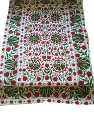 Indian Embroidery Bed Sheets