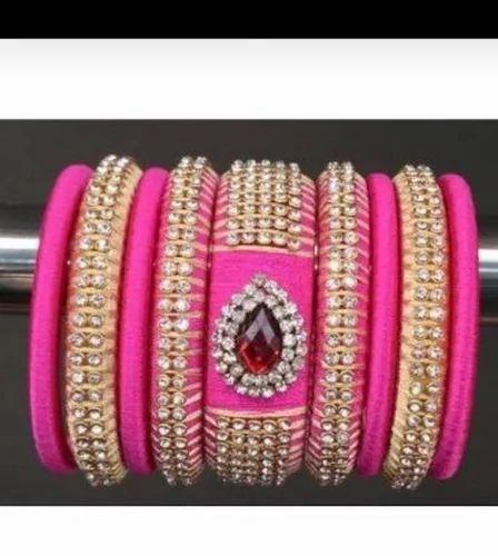 3e59cfa37 Silk Thread Jewellery | Kundan Diya | Anviksha Collection, Nashik