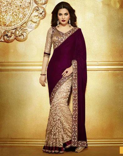 3fcd3f08a242d Velvet Designer Saree at Rs 800  piece