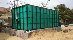 Biogas Plant with Fabric Digester