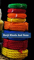 Ravji Khoda And Sons Natural And Red Hdpe Plastic Rope