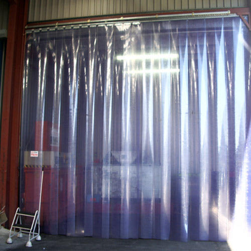 Multiflex Transparent Industrial PVC Strip Curtains
