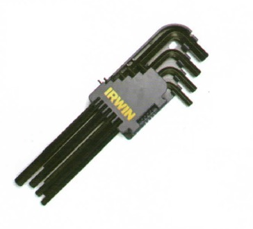 14 Piece New Metric//Imperial Wrench Set Allen Alan Hex Hexagon Key with Keyring