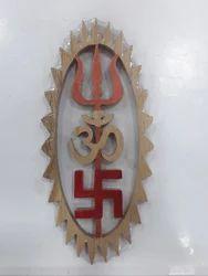 Shreeparni Om Swastik Trishul Long