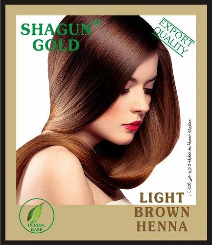 203b08bd5 Shagun Gold Green Light Brown Henna, Usage: Personal, Parlour, Rs ...