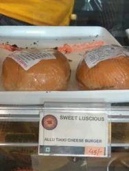 Aloo Tikki Cheese Burger
