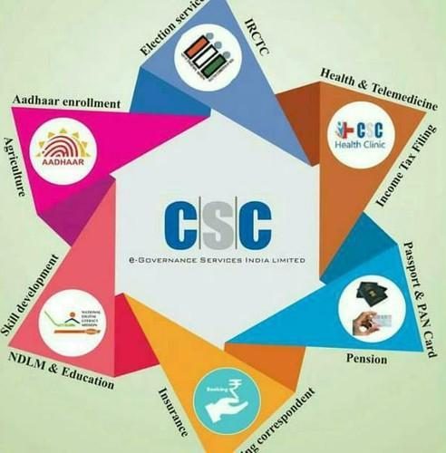 CSC Services in Indore, Sukhlia by Kashish Computers