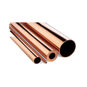 Round Copper Tube, Packaging Type: Loose, Thickness: 0.4 Mm - 15 Mm