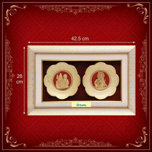 Golden Plate Diwali Gift
