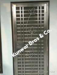 Designer Stainless Steel Doors