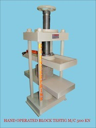 Hand Operated Paver Block Testing Machine