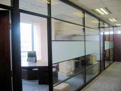 Aluminium Office Partition Cabins