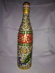Marble Painting Bottle