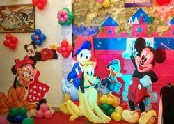 Mickey Mouse Birthday Theme Party Organizer
