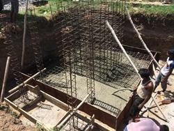 Foundation And Fencing