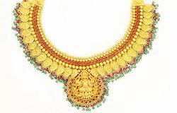 Gold Heavy Necklace