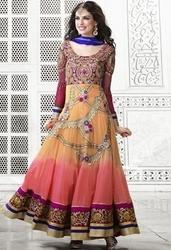 Multi Color Printed Anarkali Suits