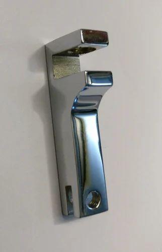 Brass F Pillar Glass corner part