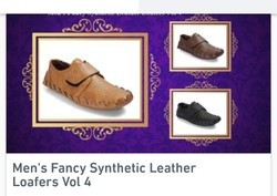 IND-7 And 9 Men's Fancy Synthetic Leather Loafers