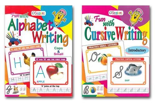 Fun Cursive Writing English 2 Children Books