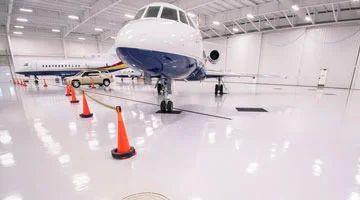 Aerospace Industry Epoxy Flooring, एपॉक्सी फर्श in Ahmedabad , Arya Tech  Solutions Private Limited | ID: 10886980230