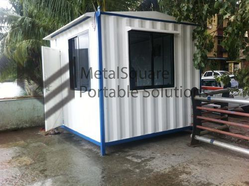 Mini Office Cabins Prefabricated Low Cost Housing