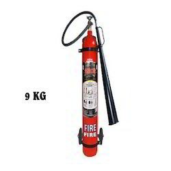 9 Kg Co2 Type Trolley Mounted Fire Extinguishers.